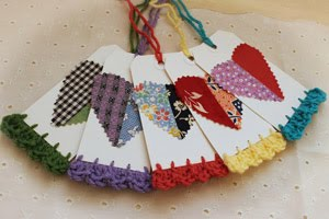 Scrappy Heart Tags