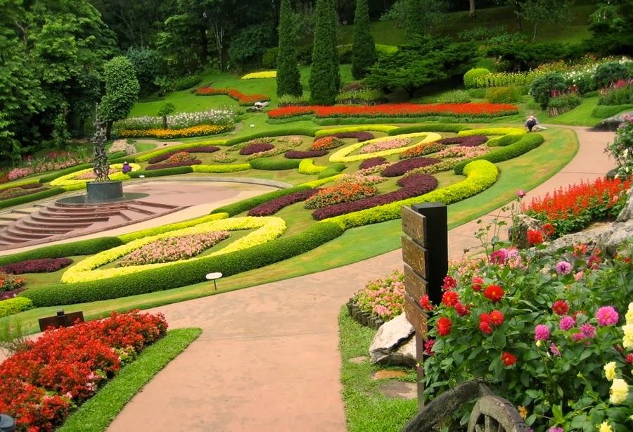 Arte y jardiner a principios de dise o de jardines 2 parte - Disenos de jardineria ...