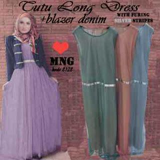 Tutu Long Dress