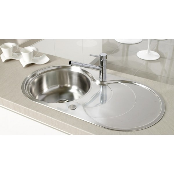 Stainless Steel Single Bowl Kitchen Sink : single bowl stainless steel sink reviews