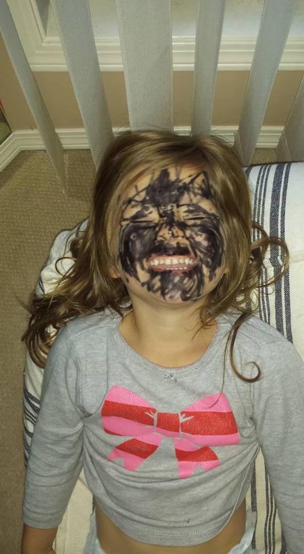 Смешные фото детей (21 фото)