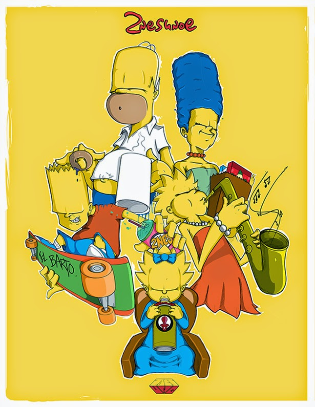 Los Simpson by 2NES UNOe