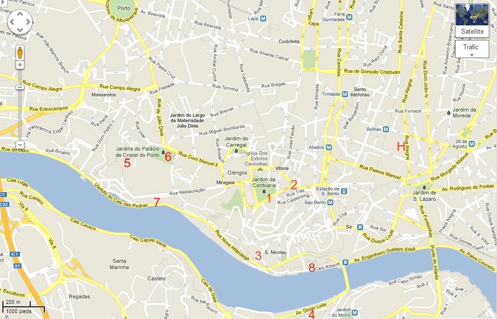 Une semaine pour visiter lisbonne et porto - Office de tourisme plan de la tour ...