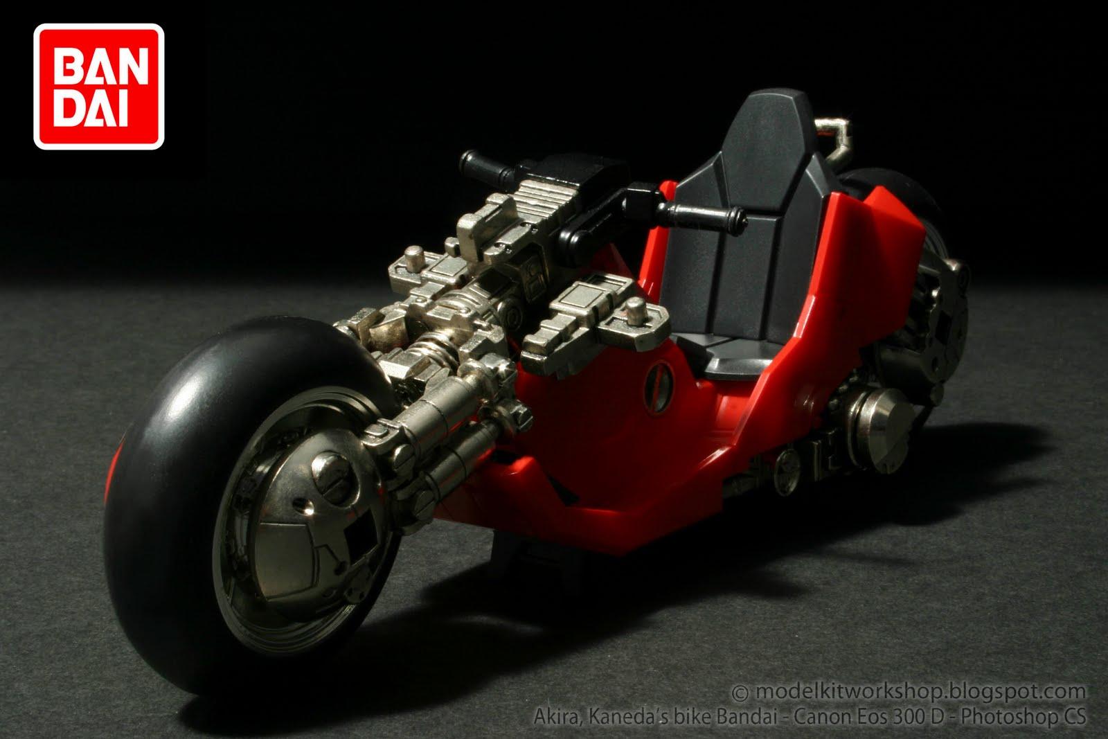 Modelkit Workshop Akira Collection Kaneda S Bike Mcfarlane