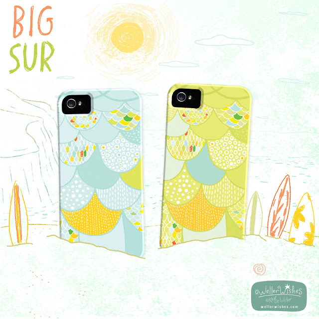 Big Sur iphone case by Kathy Weller WellerWishes