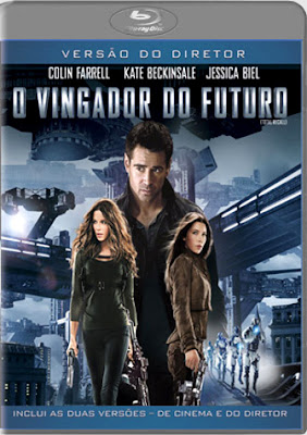 Filme Poster O Vingador do Futuro 2012 BDRip XviD Dual Audio & RMVB Dublado
