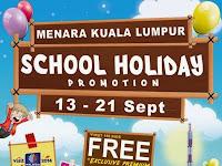 School Holiday Promotion @ Menara Kuala Lumpur 2014