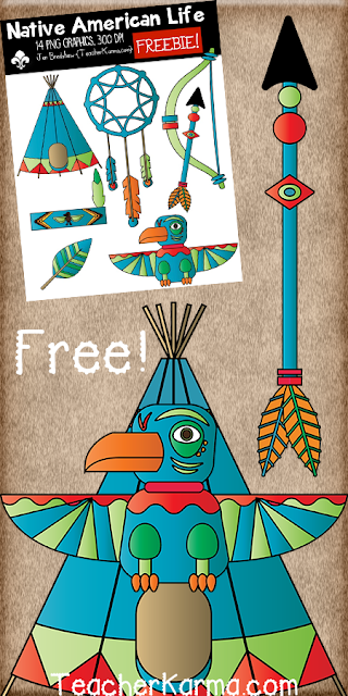 Native American Clipart TeacherKarma.com