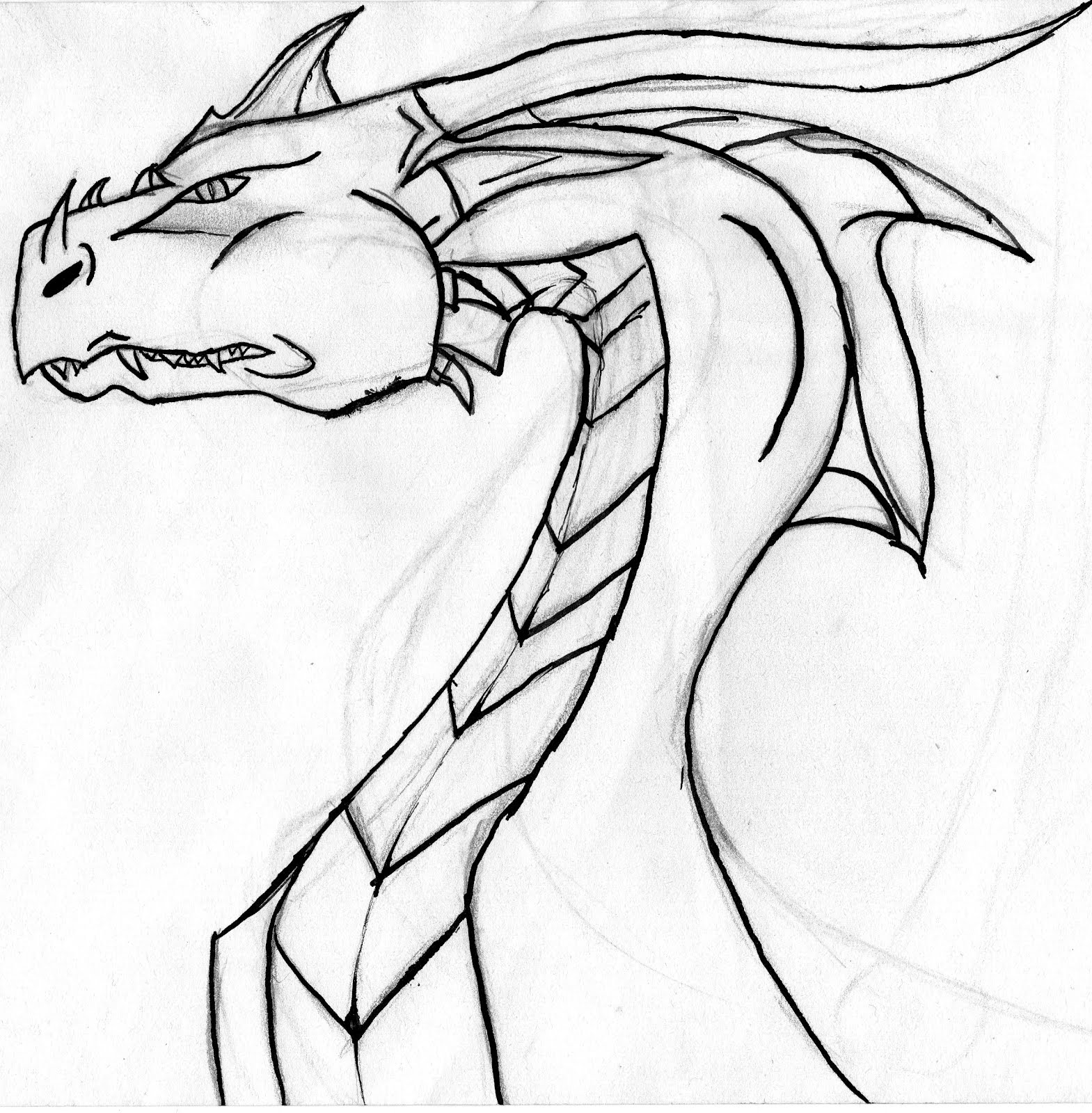 Krokmou the dragon - Dessin un dragon ...