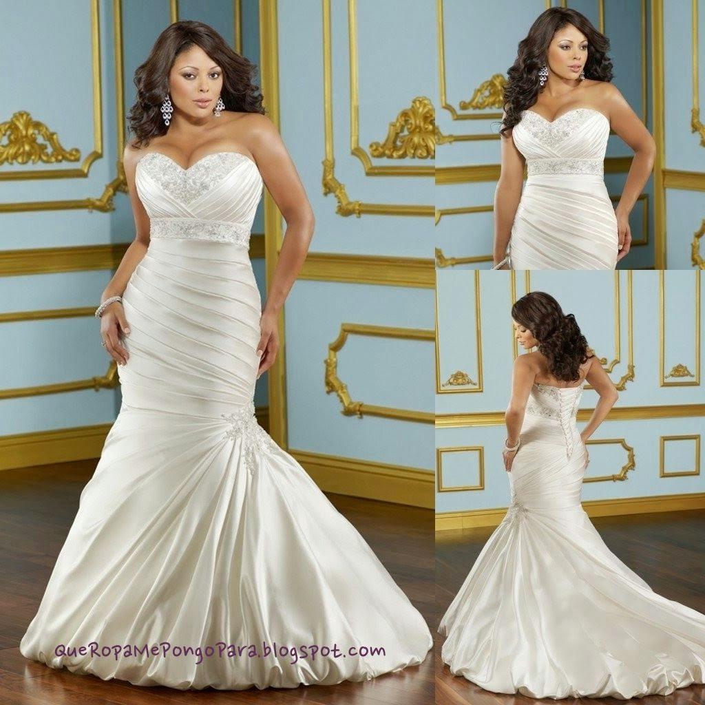 wedding MODELOS DE VESTIDOS DE NOVIA PARA GORDITAS - Que ropa me pongo para mi boda