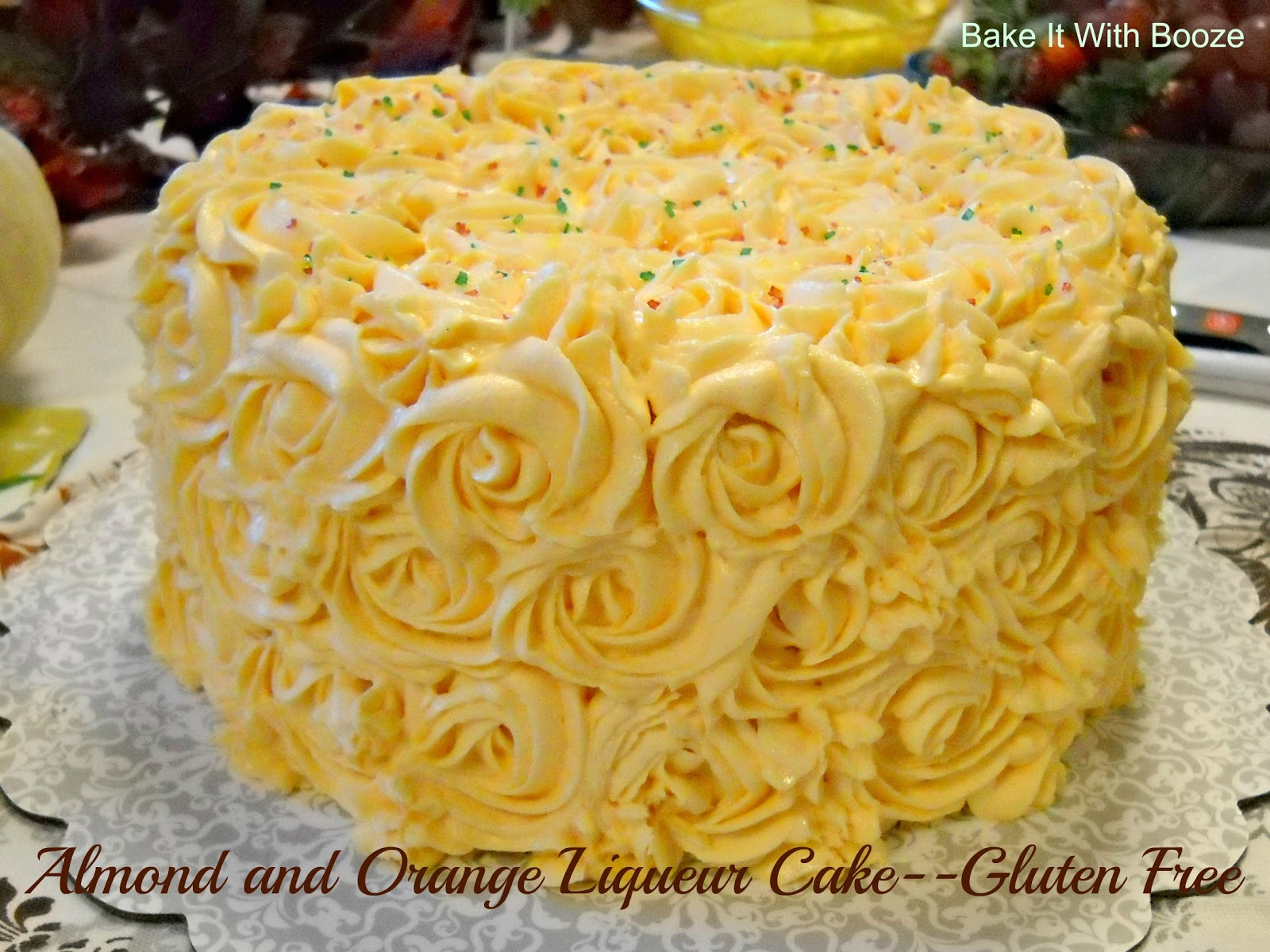 Orange liqueur cake recipe