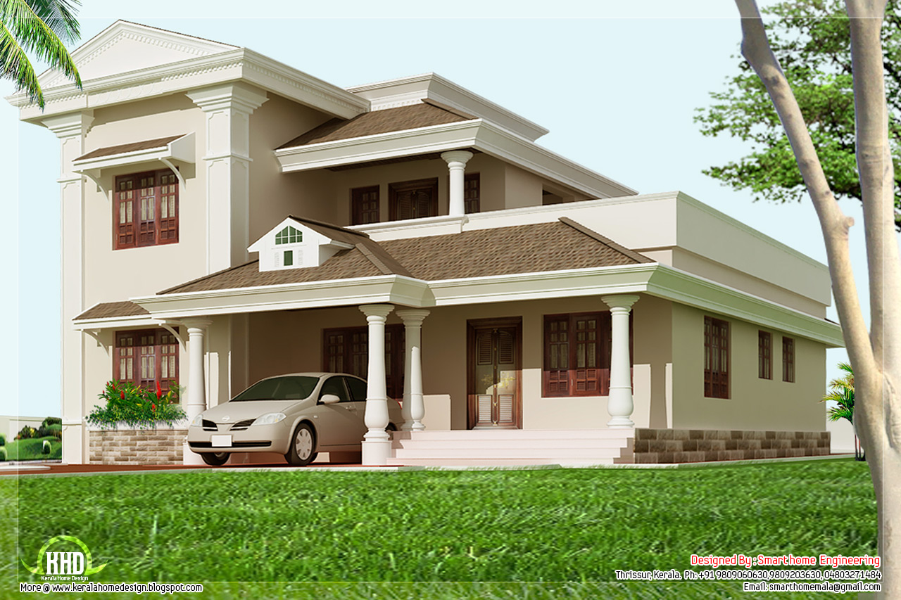 ... square feet 3 bedroom home design - Kerala home design and floor plans