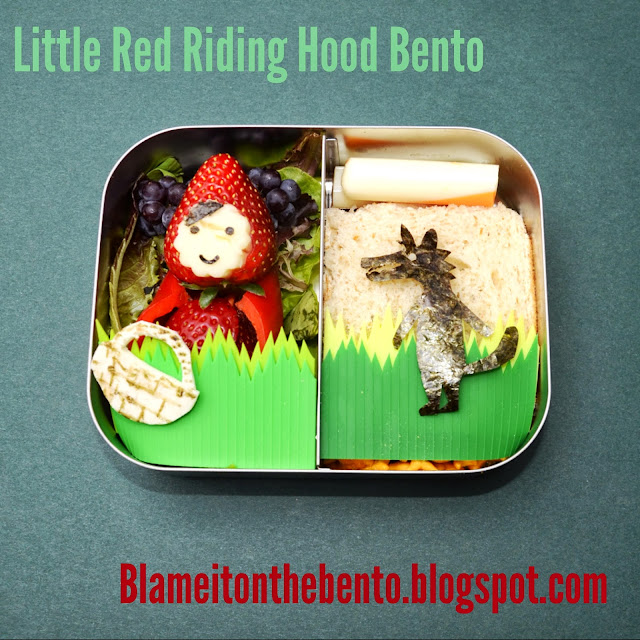 Little red riding hood bento