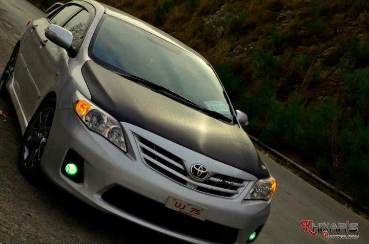 toyota corolla 2012 modified front toyota corolla 2012 modified front ...