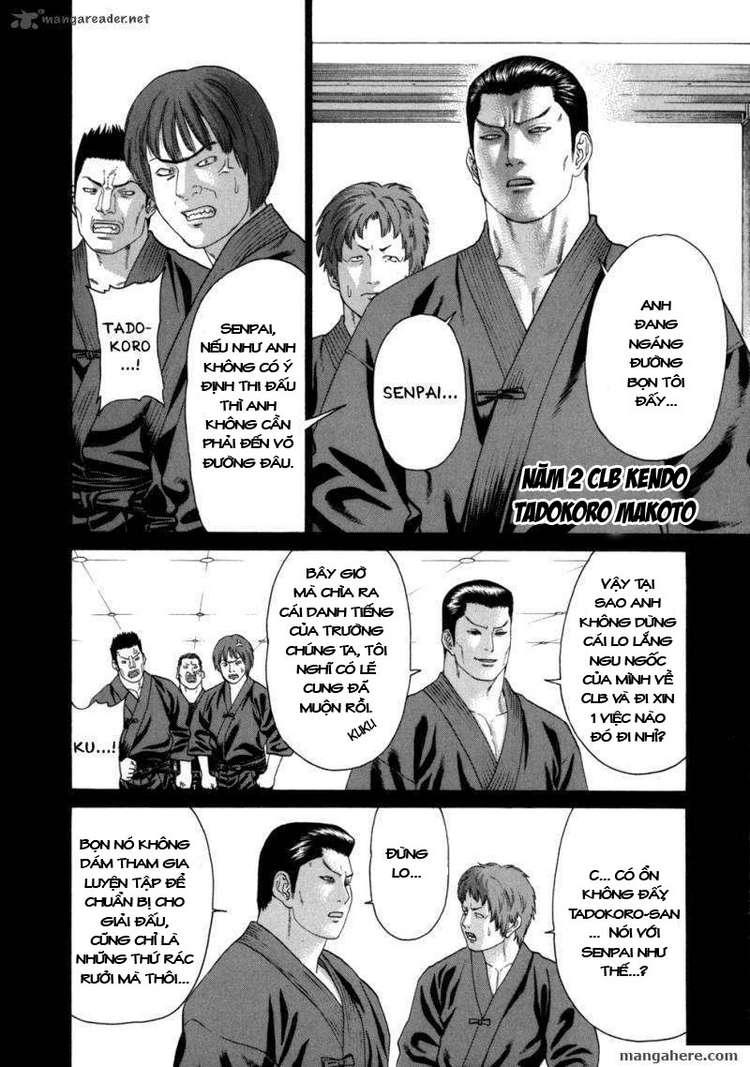 Karate Shoukoushi Kohinata Minoru chap 81 Trang 10