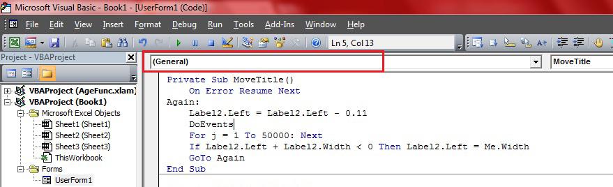 vb6 on error resume next example resume sample it