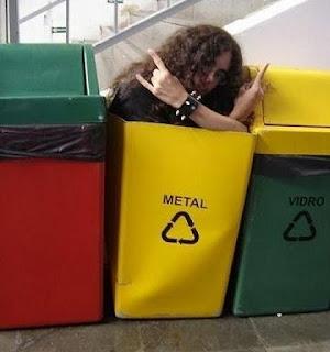 alguém não gosta de metal...