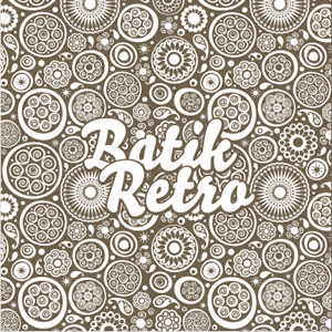 Free Download Batik Retro Vector