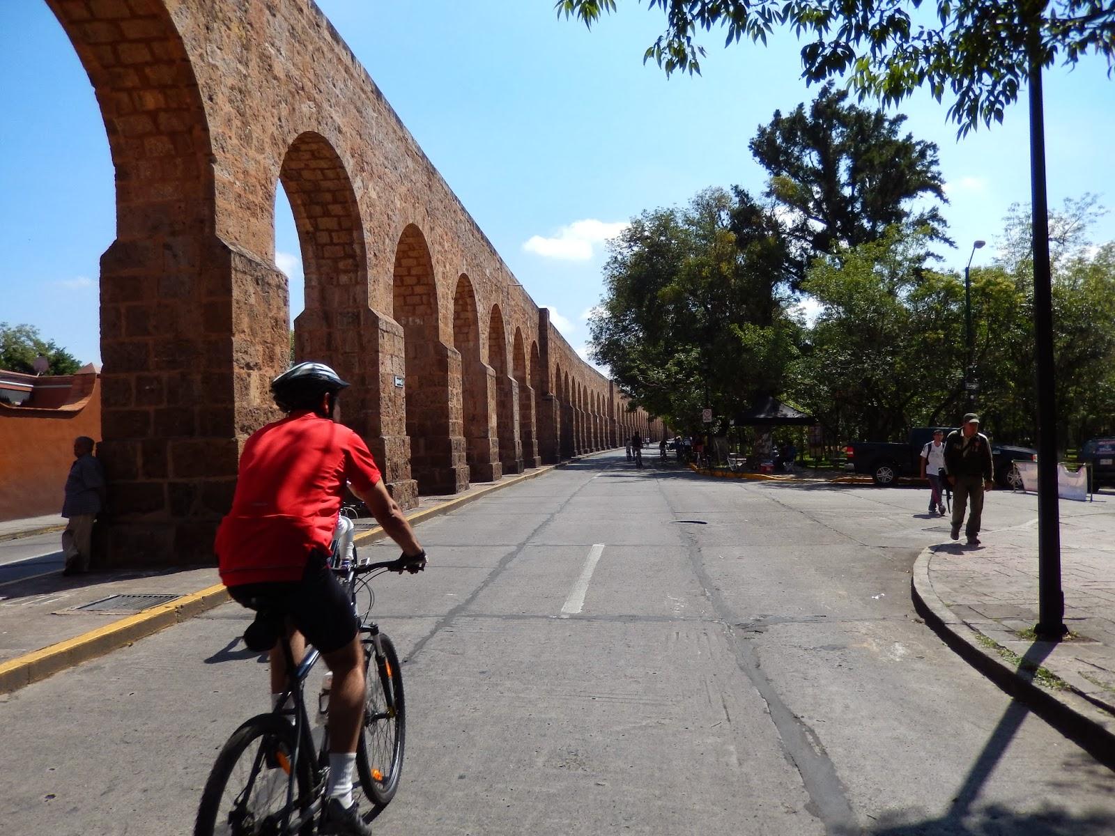 Arcos, avenida, morelia, mexico