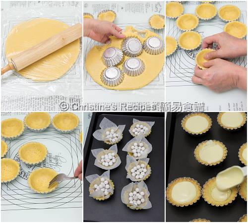 芝士撻製作圖 Cheese Tarts Procedures03