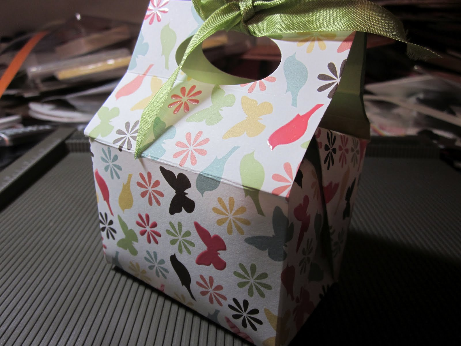 Lucky Lady Ventures In Stampin Debis Free Gable Box Template