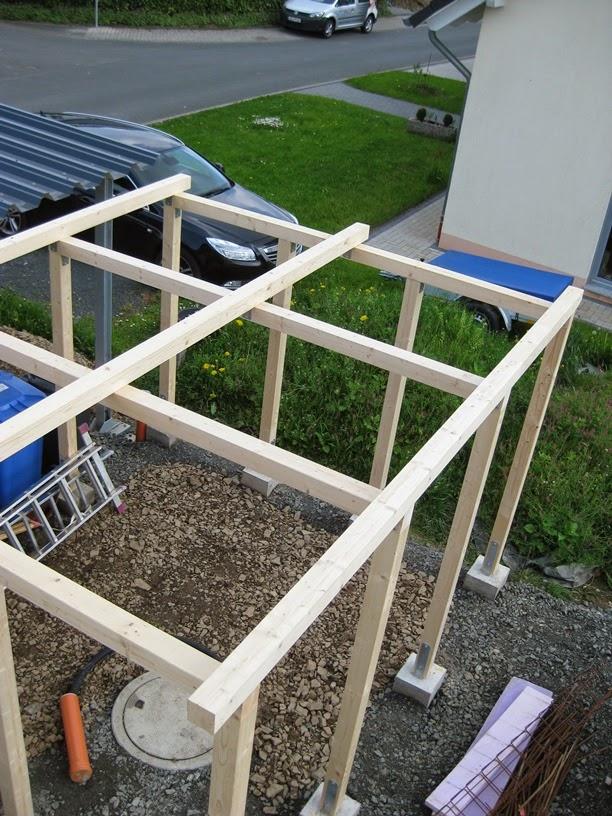 marios werkstatt hausprojekt carport schuppen teil 3. Black Bedroom Furniture Sets. Home Design Ideas