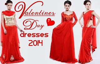 Valentines Day Red Frocks