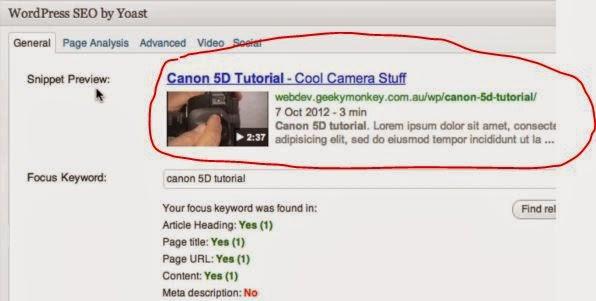 Exemplo de como ficaria o vídeo após inserção de URL do Youtube, usando o Vídeo SEO para plataforma CMS Wordpress