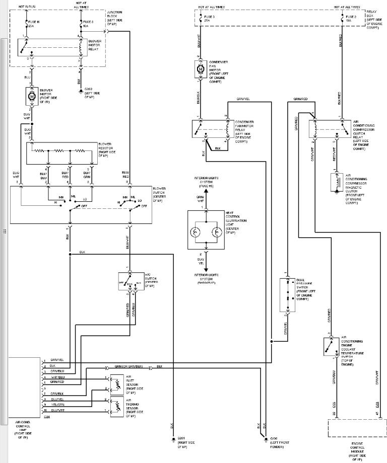 Wiring Diagram For Central Air And Heat – The Wiring Diagram ...