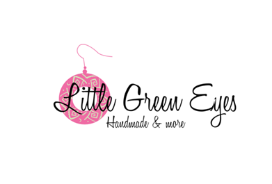 Little Green Eyes - Handmade