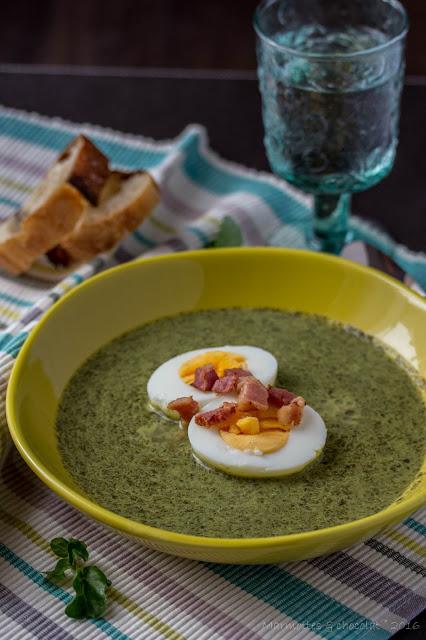 Супа от кресон / Soupe de cresson
