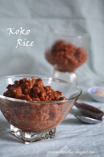 Gormandize: Koko Rice (Samoan Chocolate Orange Rice Pudding)