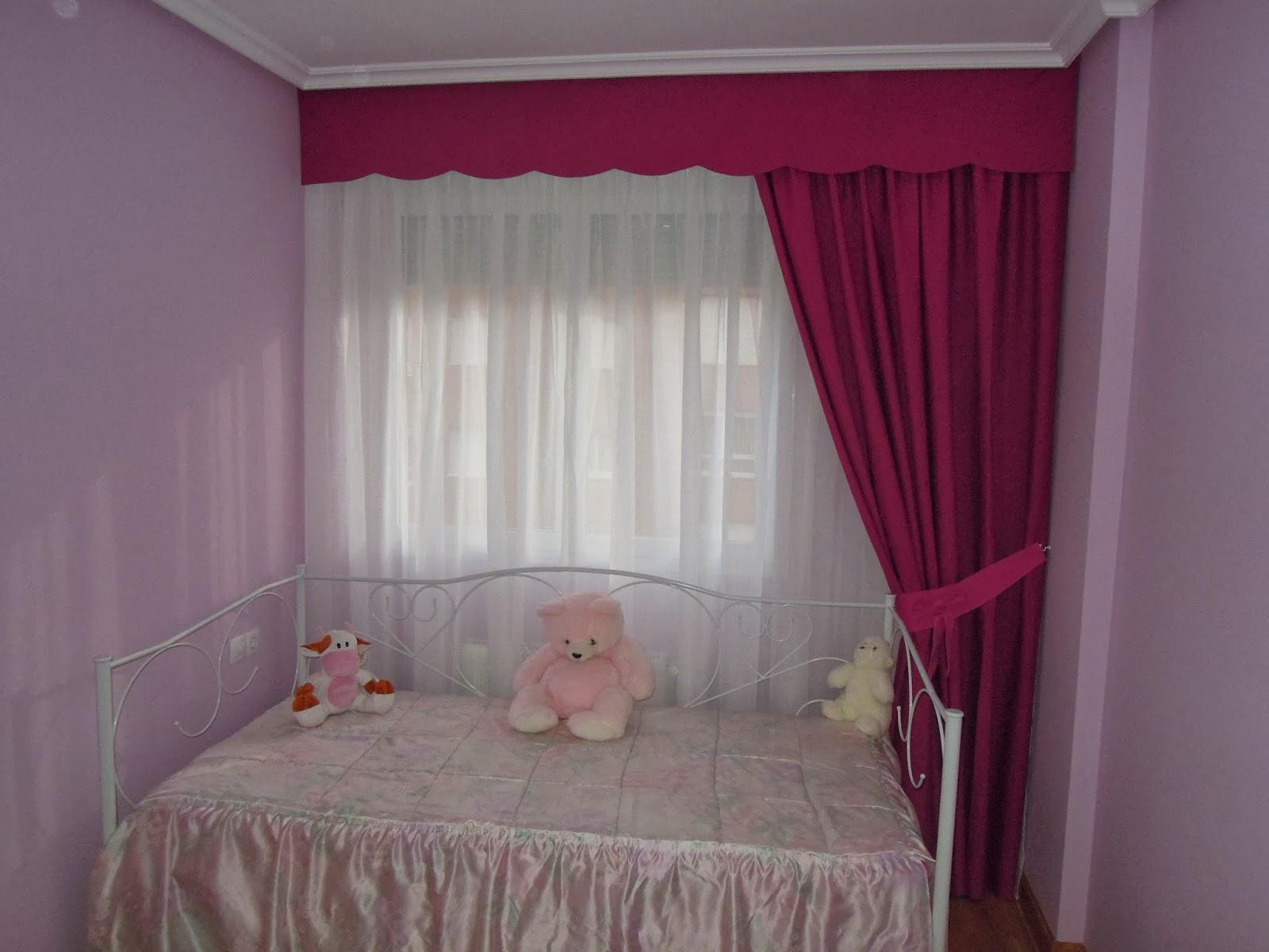 Fotos de cortinas juveniles 2013 for Cortinas en blanco
