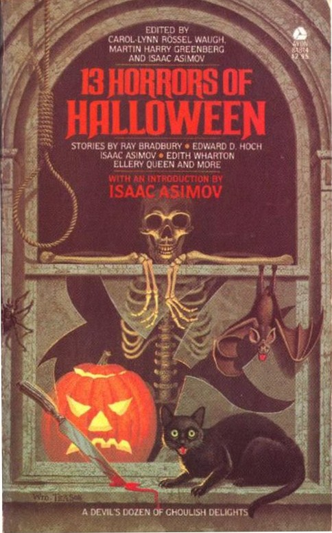 13 Horrors Of Halloween Very Rare Collectible Pb Isaac Asimov Ray Bradbury