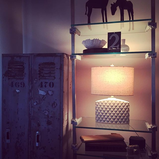 #thriftscorethursday Week 79 | Instagram user: lifesrosey shows off this Drab to Fab Quilted Lamp