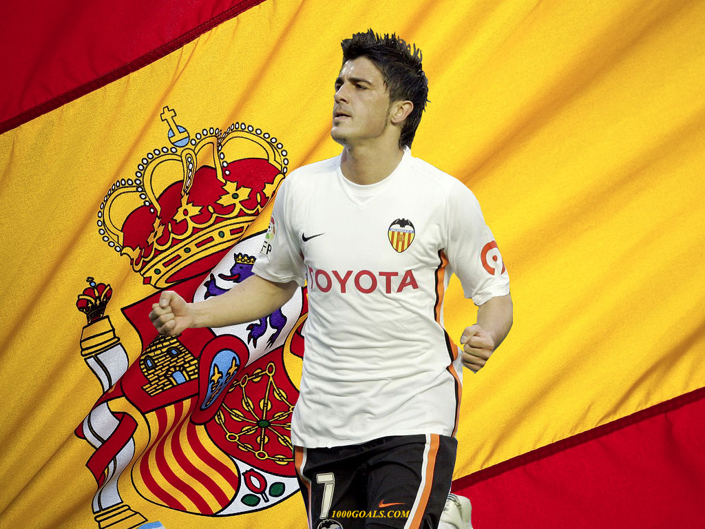 Wallpaper di David Villa