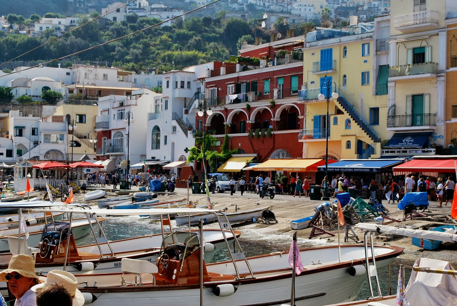 A positive outlook isle of capri for Isle of capri tours