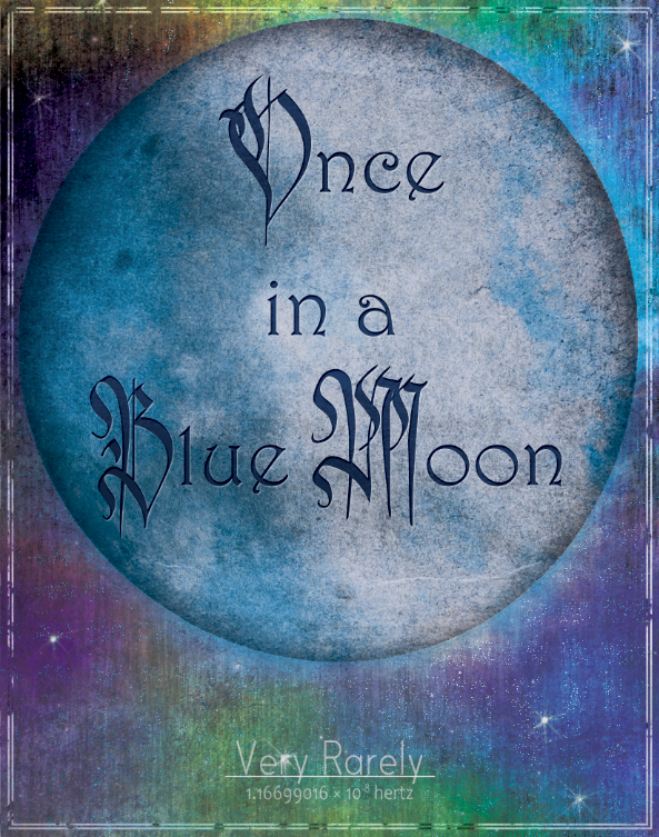 Blue Moon Illustration Design Apparel Alice Graphix AliceGraphix