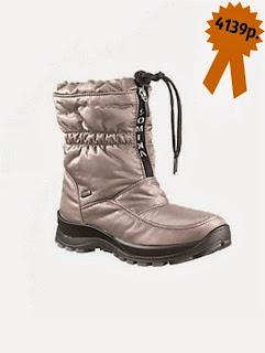 Зимняя обувь, дутики с водонепроницаемой мембраной Romika