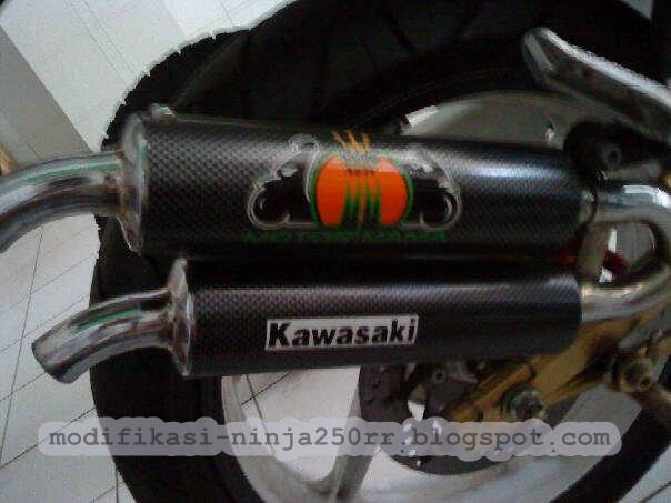Kawasaki Ninja 250R Exhaust title=