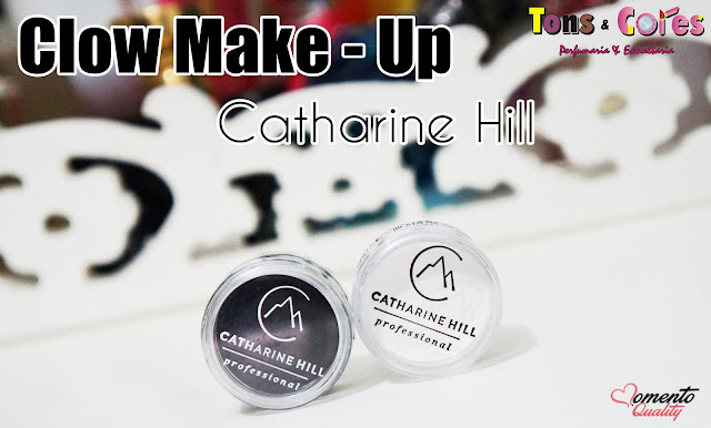 Clown Make-Up Branco e Preto Catharine Hill