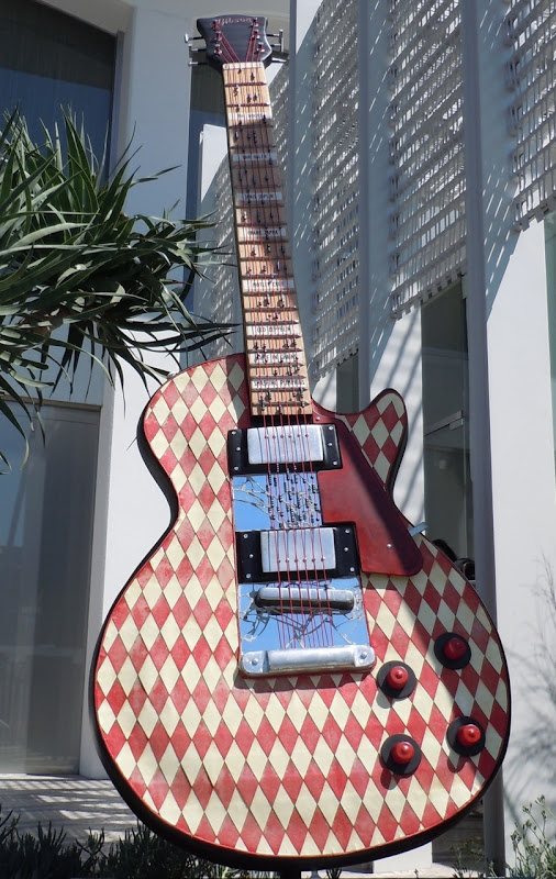 David Gardner's Star Struck GuitarTown sculpture