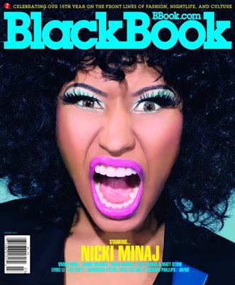 >Nicki Minaj en couv' de Blackbook