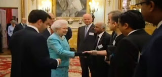 Hm Queen Elizabeth Hosts Commonwealth High Commissioners At Buckingham Palace Prior To CHOGM 2013