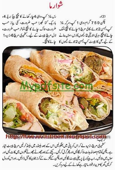 Food Recipies Urdu Book