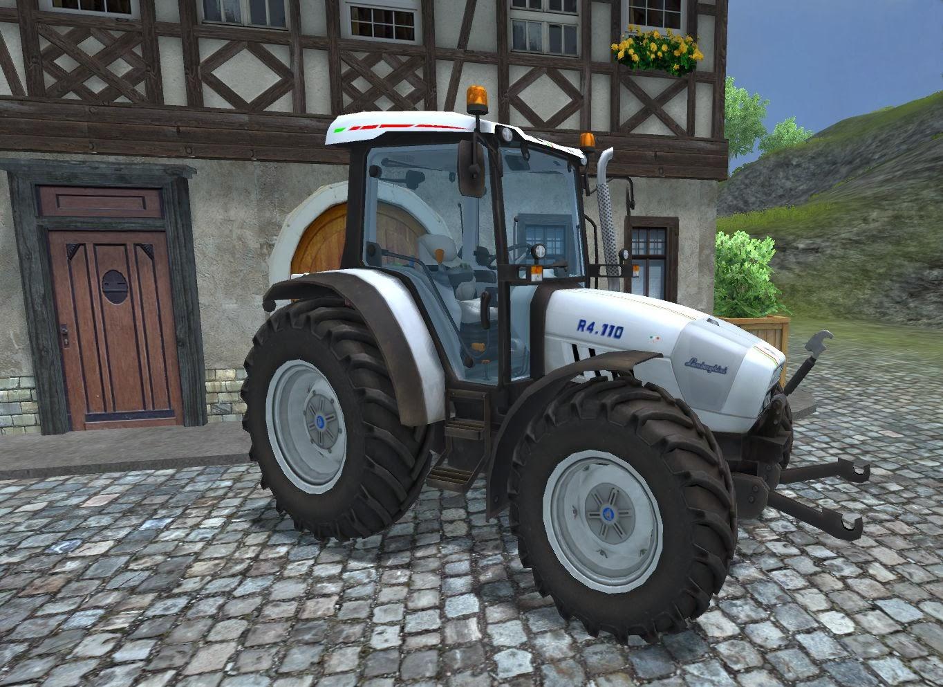 El R4 es el tractor polivalente ideal: simple práctico y funcional
