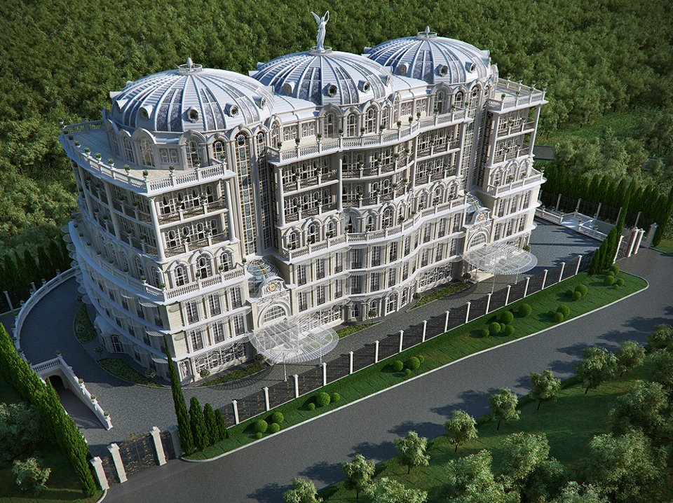 Most amazing facts stunning palace made using cg for Palatial home designs