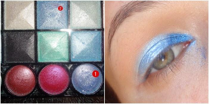 maquiagem, tutorial, carnaval, sereia