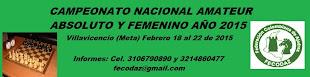 FECODAZ: Camp Nacional Ajedrez Amateur 2015 (Dar clic a la imagen)
