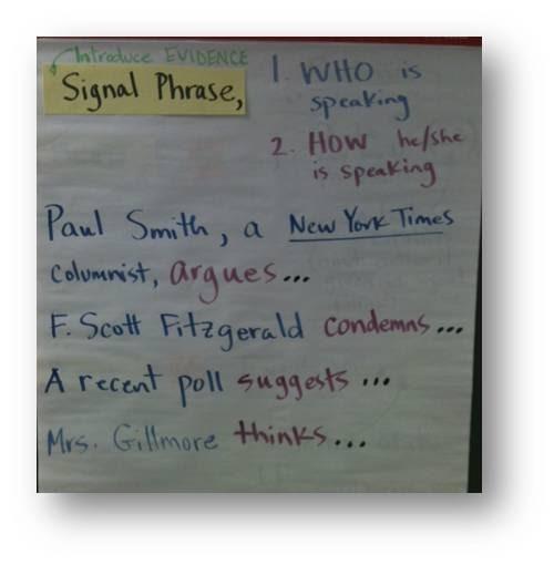 Argumentative essay signal word